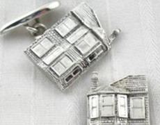 House cufflinks