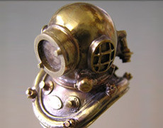 Model Divers Helmet
