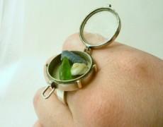 Designer rings …